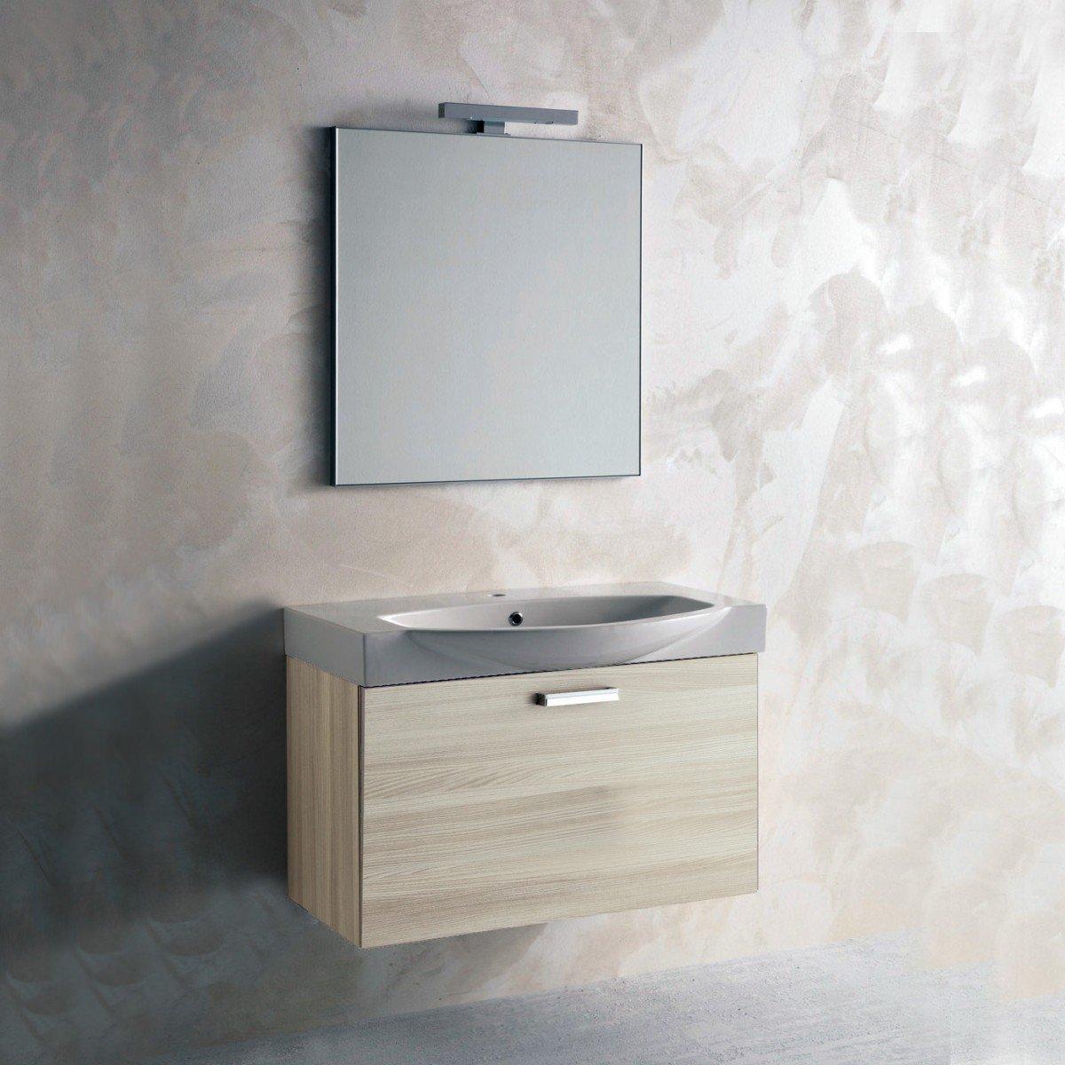 Mobile bagno completo olmo cod 0102 - Mobile bagno completo ...